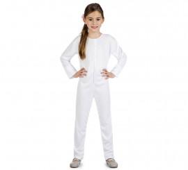 Maillot o Mono Color Blanco para niños