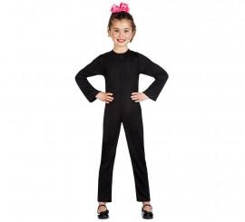 Maillot o Mono Color Negro para niños