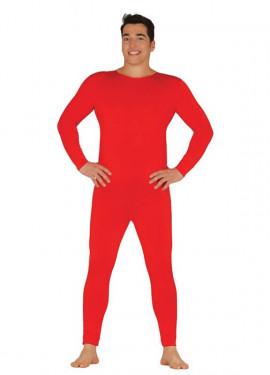 Maillot o Mono color rojo para hombre