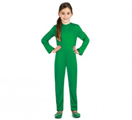 Maillot o Mono Color Verde para niños