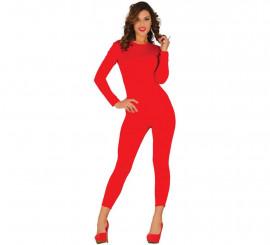 Maillot o Mono de color rojo para mujer