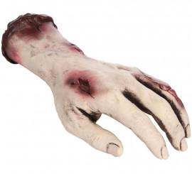 Mano mutilada con sangre 26 cm
