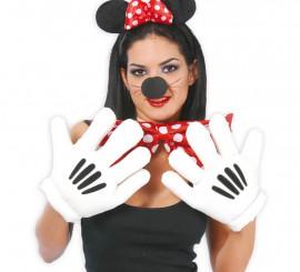 Manos o guantes de Ratoncita