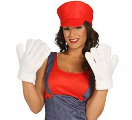 Manos o guantes de Mario
