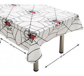 Mantel con Telaraña y Araña 274X137 cm