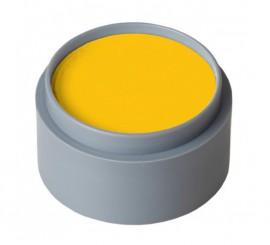 Maquillaje al agua 15 ml. color amarillo anaranjado