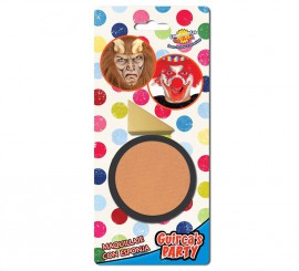 Maquillaje cremoso con Esponja color Carne