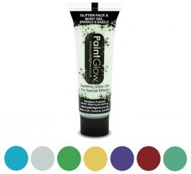 Maquillaje corporal con purpurina en varios colores 10ml