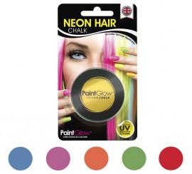 Maquillage à Cheveux UV avec éponge en plusieurs couleurs 3,5 g