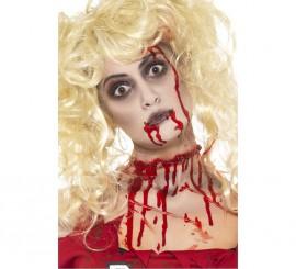 Maquillaje de Zombi: Pintura, Cápsulas de sangre y esponja