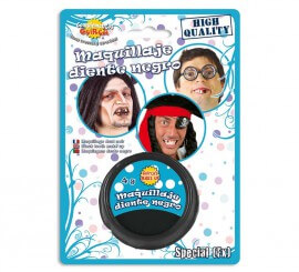 Maquillaje especial para diente negro