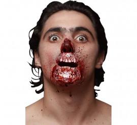 Maquillage FXs Nez et Bouche de Zombie en Latex
