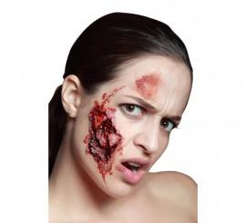 Maquillage FXs de Morsure de Zombie en Latex