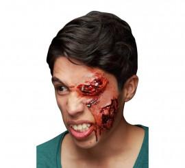 Maquillage FXs de Visage Infecté en Latex