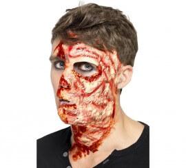 Maquillaje FXs de cara quemada