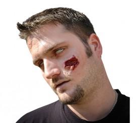 Maquillaje FXs de Mordedura de Zombie o Araña