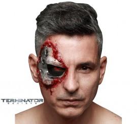 Maquillaje FXs de Ojo de Cíborg de Terminator