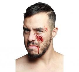 Maquillage FXs de Blessure Ouverte en Latex