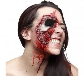 Maquillage FXs Oeil de Zombie en Latex