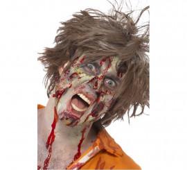 Maquillaje FXs Zombi: Látex, Pintura, Sangre falsa