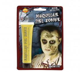 Maquillaje piel de Zombie amarillento de 28.3 gramos
