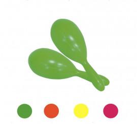 Maracas neón en colores surtidos