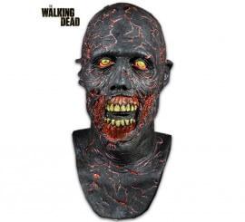 Máscara Caminante Carbonizado de The Walking Dead