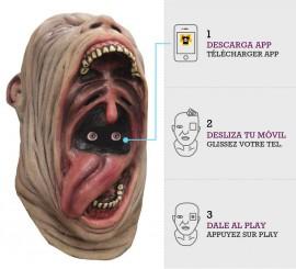 Máscara con animación Enorme Boca Observadora