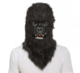 Máscara con Mandíbula Móvil de Gorila