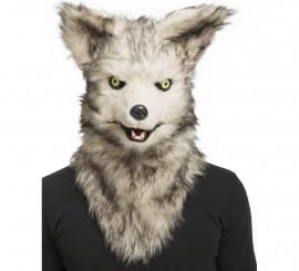 Máscara con Mandíbula Móvil de Lobo