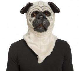 Máscara con Mandíbula Móvil de Perro Bulldog