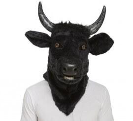 Máscara con Mandíbula Móvil de Toro