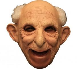 Masque Vieux Monsieur Gus Deluxe en Latex Halloween