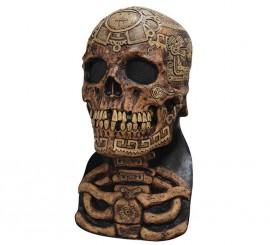 Máscara de Calavera Azteca