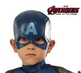 Máscara de Capitán América de Los Vengadores infantil