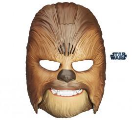 Máscara de Chewbacca con sonido y movimiento de Star Wars