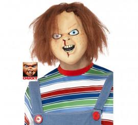 Máscara de Chucky con pelo