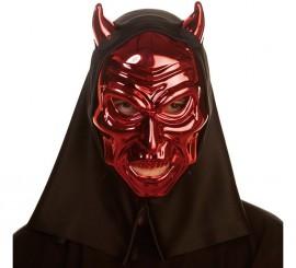Masque Démon ou Diable Métallisée 26 cm