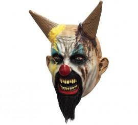 Máscara de Demonio Payaso Helado