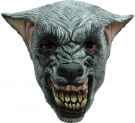Masque de Loup Garou Agressif en Latex