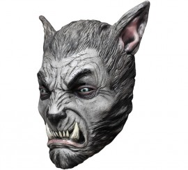 Máscara de Hombre Lobo Beast Silver
