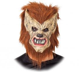 Máscara de Hombre lobo con pelo