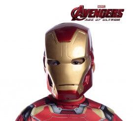 Máscara de Iron Man de Los Vengadores infantil