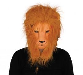 Careta de León con pelo