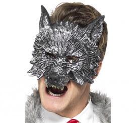 Máscara de Lobo Deluxe para hombre