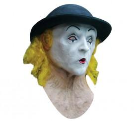 Masque de Mime Marceau en Latex pour Halloween