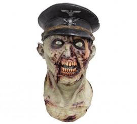 Máscara de Oficial Nazi Zombie