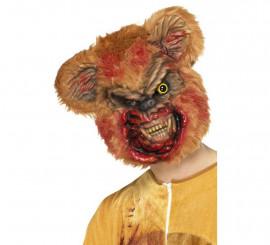 Máscara de Osito Zombi para adultos