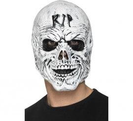 Masque de Squelette RIP pour adultes