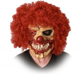 Máscara de Payaso zombi
